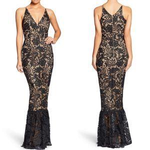 Dress the Population Sophia Crochet Lace Mermaid